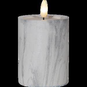 Bilde av Flamme marble kubbelys 12,5